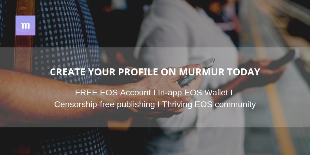 murmur twitter on blockchain