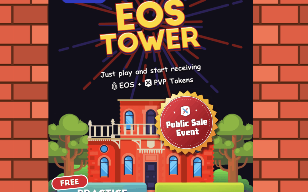 34 – Simple, Fun Game on Chain with EOS Tower Game