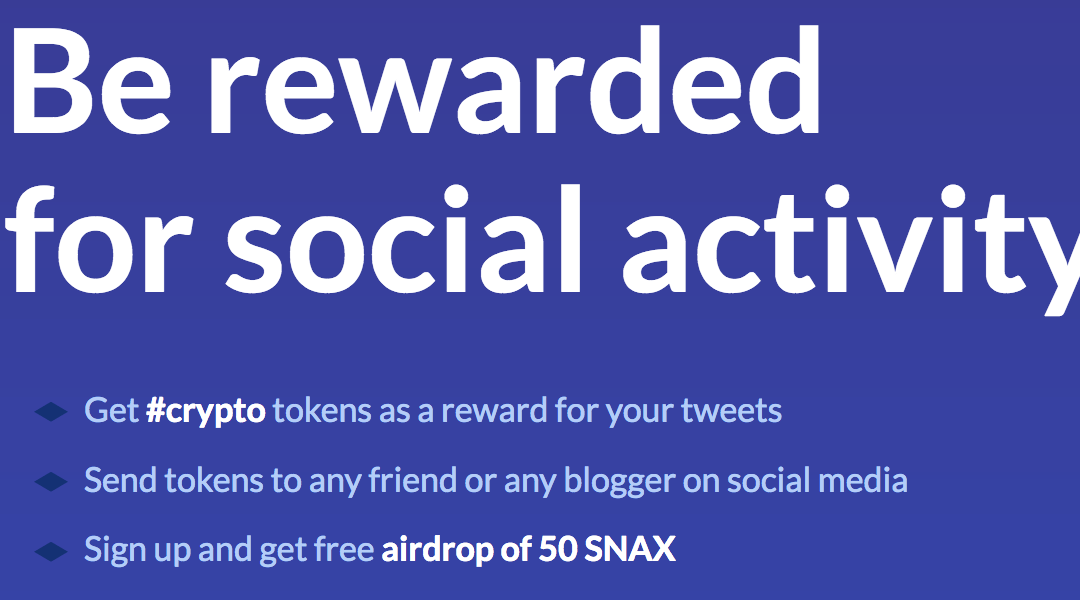 37 – Snax EOSIO Sisterchain for Social Rewards